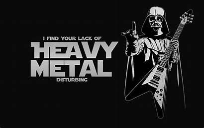 Vader Metal Heavy Lack Disturbing Darth June