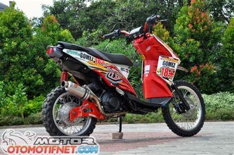 Yamaha X Ride Modifikasi by Modifikasi Motor Yamaha X Ride Trail Terbaru Modifikasi