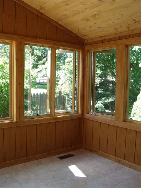 converting screened porch to sunroom photos finished conversion from screened porch to sunroom