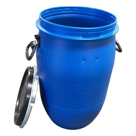 cuisine ot plastic 15 gallons ot w snap lid used food grade san
