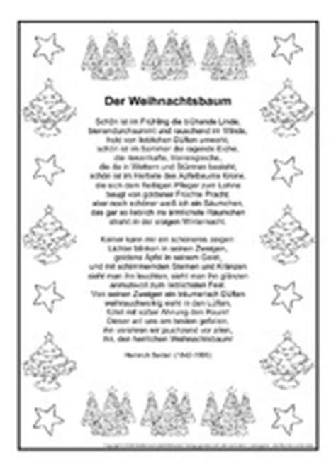 gedichte weihnachten feste und feiertage hus klasse