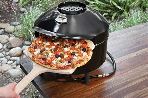 pizza oven outdoor ovens pronto pizzeria portable pizzacraft grill gadgets sweepstakes barbecuebible kitchen bbq backyard cooking forno summer rated grilling