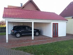 Carport Pultdach Neigung : carports mit satteldach carportcenter seewald ~ Whattoseeinmadrid.com Haus und Dekorationen