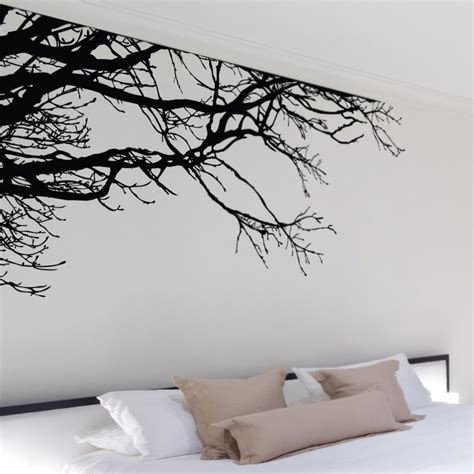 shadowy tree branches wall decal so that s cool