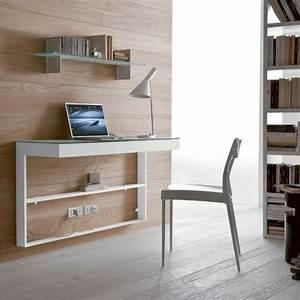 designs uniques de bureau suspendu archzinefr bureaux With meuble bibliotheque bureau integre 0 le bureau avec etagare designs creatifs archzine fr