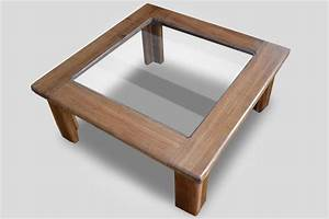decorate your home with a solid glass tabletop of any With solid wood glass top coffee table