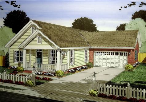3 Bed Narrow Lot Cottage With Garage