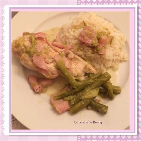 cuisine filet de poulet filet de poulet aux asperges et au bacon ww la cuisine de boomy ww recettes allegees