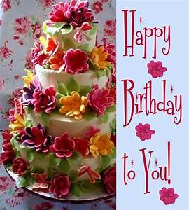 happy birthday flowers - Google-søk | happy birthday ...