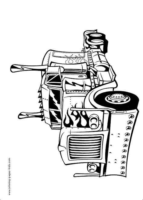 transformers color page coloring pages  kids