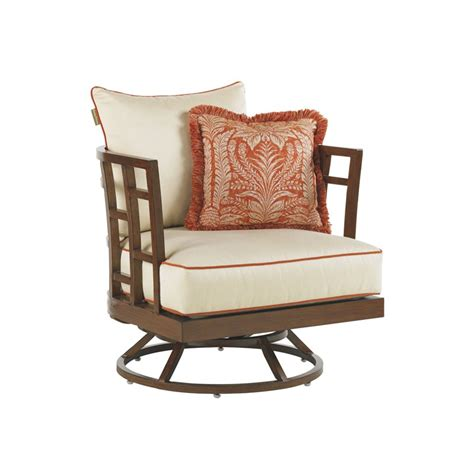 bahama club resort patio swivel lounge chair