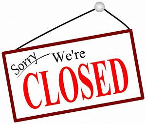 Sorry We're closed sign vector clipart image - Free stock ...