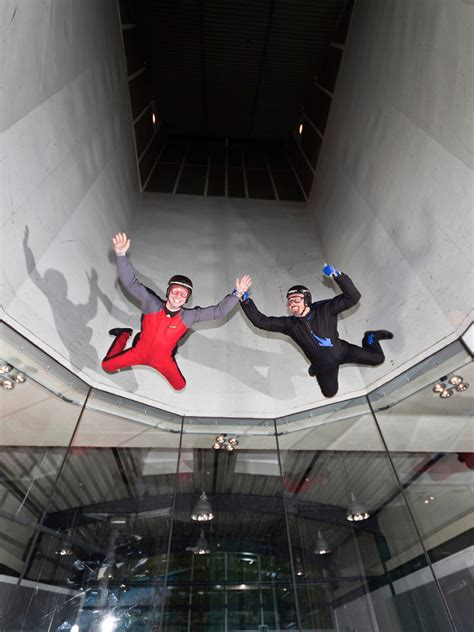 indoor skydiving center bottrop body flying der traum