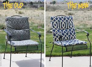Make, Your, Own, Reversible, Patio, Chair, Cushions