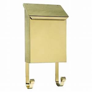 QualArc Polished Brass Wall Mount Non-Locking Brass