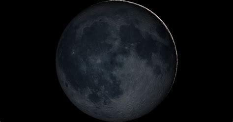 february  moon      moonless sky
