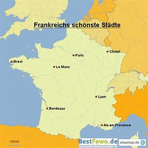 Schöne Städte In Frankreich : frankreichs sch nste st dte von bestfewo landkarte f r frankreich ~ Buech-reservation.com Haus und Dekorationen