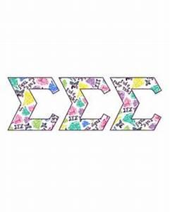 sigma sigma sigma by francesca joy fashion greek on With tri sigma letters
