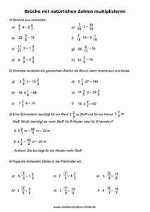 Brüche Berechnen : mathe unterrichtsmaterial ~ Themetempest.com Abrechnung