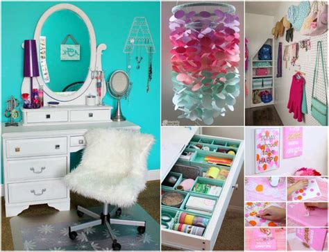 cool ways  decorate  teenage girls bedroom