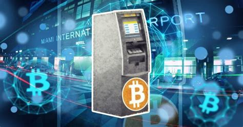 They look like traditional atms, but they do not connect to a bank account and instead connect the customer directly to a bitcoin exchange for a localized and convenient way to purchase bitcoin in person. Bitstop Installs the First Bitcoin ATM in the Miami International Airport | Crypto Heroes