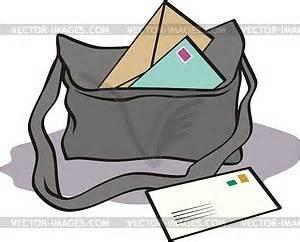 Post bag - vector clipart