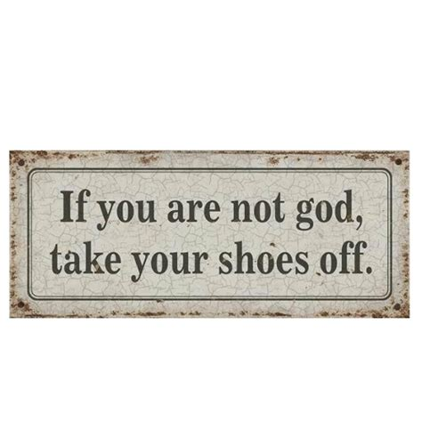 you are not shabby if you not god lustiges schild im shabby chic geschenke shop