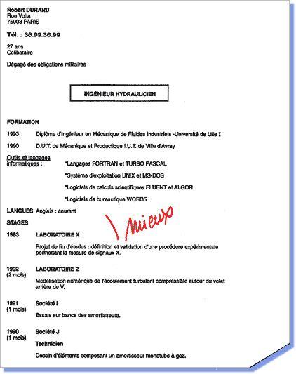 femme de chambre emploi suisse exemple d un cv sans experience professionnelle cv anonyme