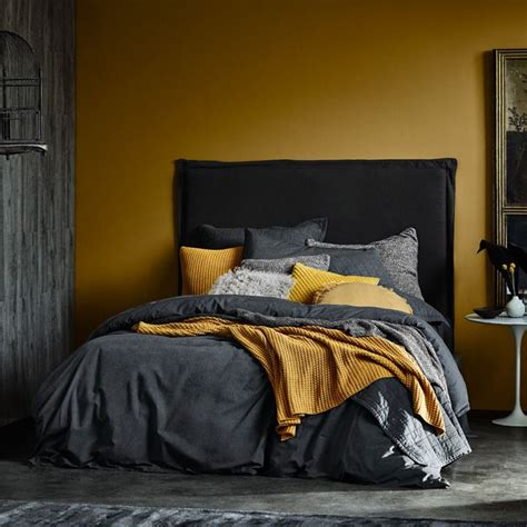 sheridans aw collection   home small room bedroom bedroom decor mustard bedroom