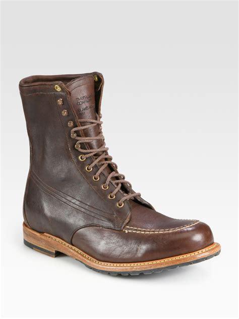 timberland blake winter moc boot  brown  men lyst