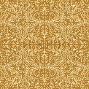Damask beautiful background with rich, antique, royal ...