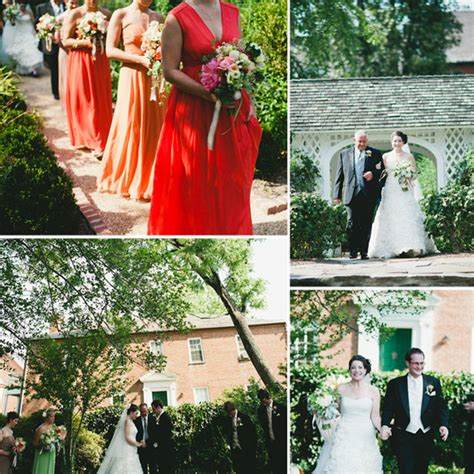 eclectic wedding with a secret garden theme kate and robbie