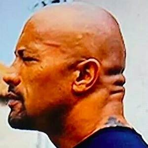 Dwayne 'The Rock' Johnson Is So Big He Has Grown Another Face