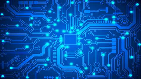 Circuit Board Desktop Background Blue Circuit Board Ps4wallpapers Com