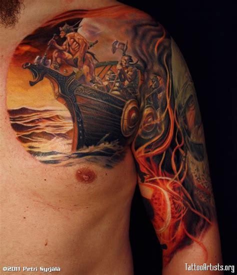 tribal viking tattoos viking tattoos designs  idea