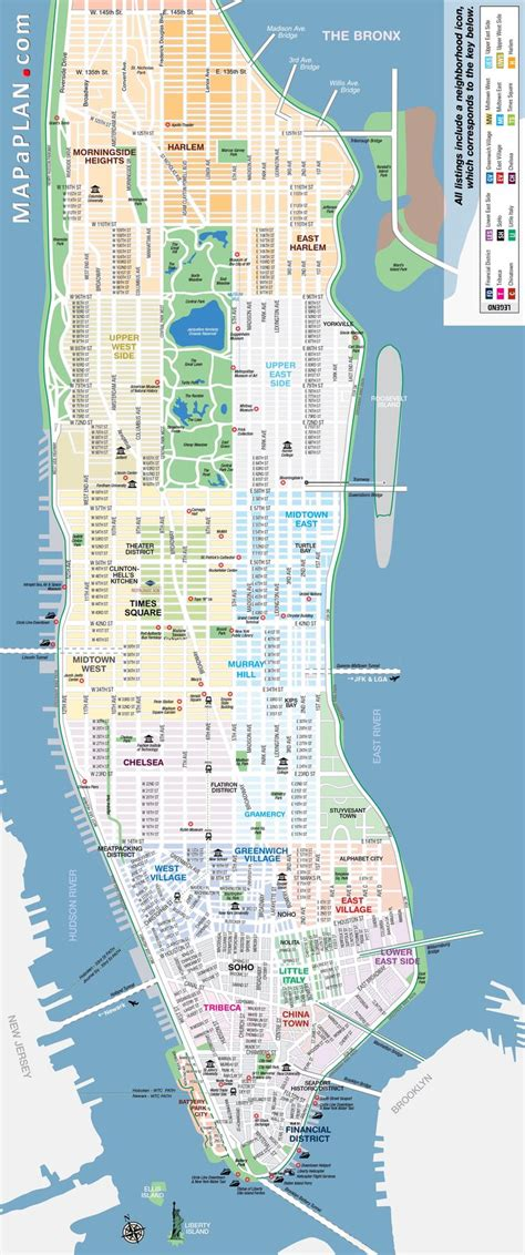 ideas  manhattan map  pinterest map