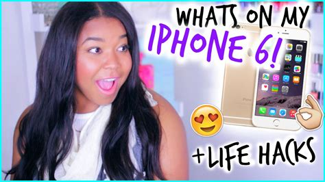 What's On My Iphone 6?!?! Plus Iphone Life Hacks! Iphone 5c Cases Cute Ringtones Pack 5s Gold Hd Ringtone Upload Without Itunes Dollar General Silicone Model A1533 Rose