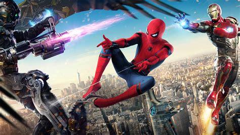 Spider Man Homecoming UHD 8K Wallpaper