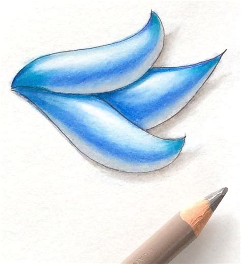 how to shade with colored pencils 3d tangle vibrant color shading eni oken