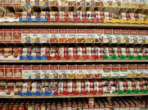 Campbell Soup Reorganizes, Focuses On Non-Soup Food ...