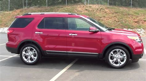 sale pre owned  ford explorer limited  owner