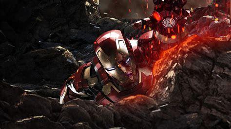 iron man  avengers infinity war laptop full hd