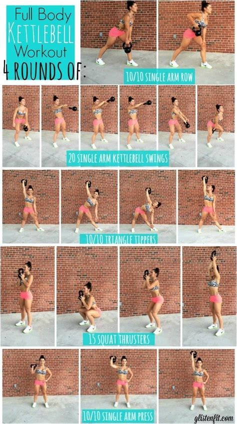 kettlebell workout body exercises challenge workouts circuit exercise kettle arm fitness training hiit arms routine kettlebells health tips ball gym