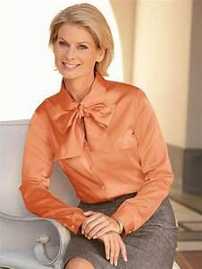 Claire Und Eef : orange silk and satin pinterest satin bluse bluse and bluse und rock ~ Eleganceandgraceweddings.com Haus und Dekorationen