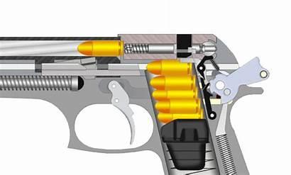 Beretta Semi 92 Revolver Pistolet Glock Handgun