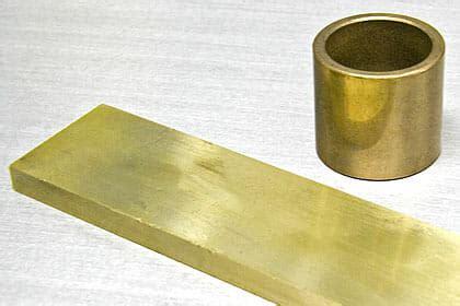 bronze  flat stock