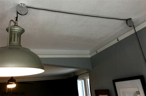 Upcycling To Make An Adjustable Diy Pulley Light Fixture