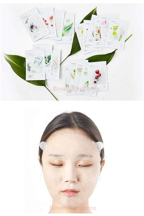 Harga Innisfree My Real Squeeze Mask box korea innisfree my real squeeze mask 20ml