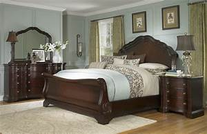 Buy Devonshire King Sleigh Bed by ART from www mmfurniture