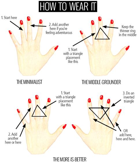 style for dummies how to wear knuckle rings how to wear
